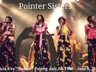 Bonnie Pointer founding of the Pointer Sisters and 1974 Grammy Award winner dead at 69
