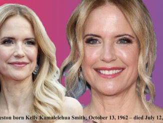 The actress Kelly Preston, the wife of John Travolta dead at 57 7