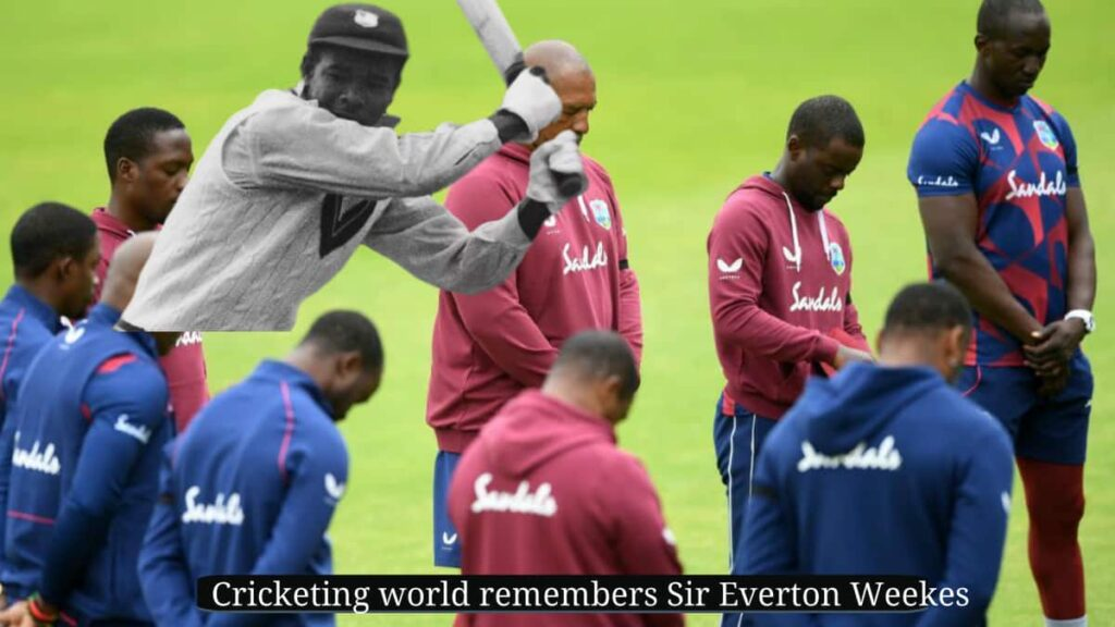 Cricketing world remembers Everton Weekes