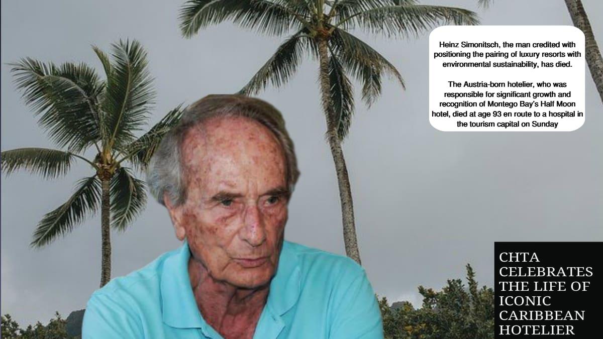 Hotelier Professor Heinz Simonitsch