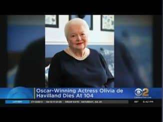 Olivia De Havilland died at 104 on sunday