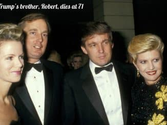 Donald Trump's brother, Robert Trump, dies at 71
