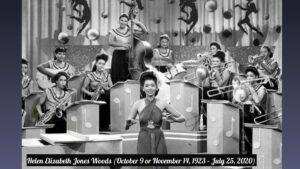 Helen Elizabeth Jones Woods (October 9 or November 14, 1923 – July 25, 2020)