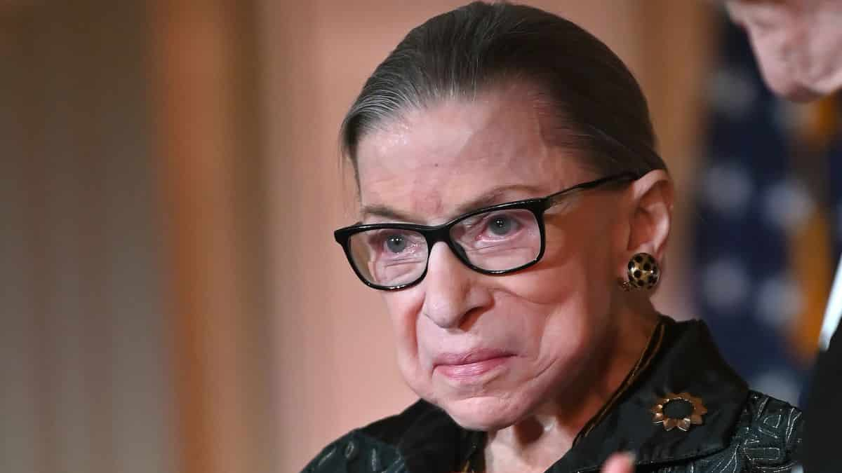 US Supreme Court Justice Ruth Bader Ginsburg Dead At 87 37