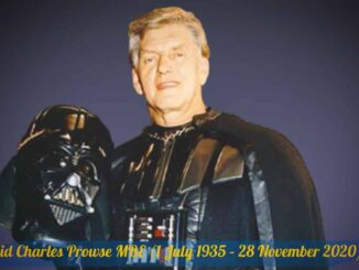 David Prowse was an English bodybuilder, weightlifter and character actor in British film and television. Worldwide, he was best known for physically portraying Darth Vader in the original Star Wars trilogy