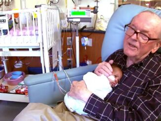 Dead at 86 is 'ICU Grandpa' who won hearts by snuggling babies, dies from pancreatic cancer