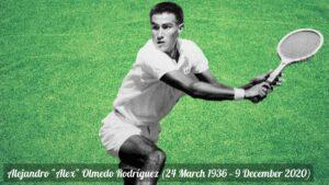 Tennis Hall of Famer Alex Olmedo, Wimbledon champ, dead at 84