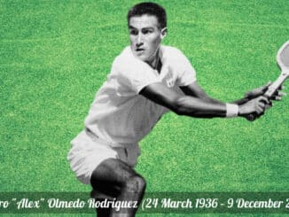 Tennis Hall of Famer Alex Olmedo, Wimbledon champ, dead at 84