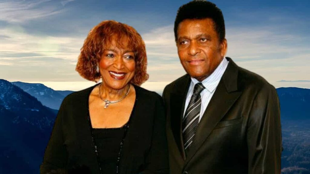 Charley Pride and his wife