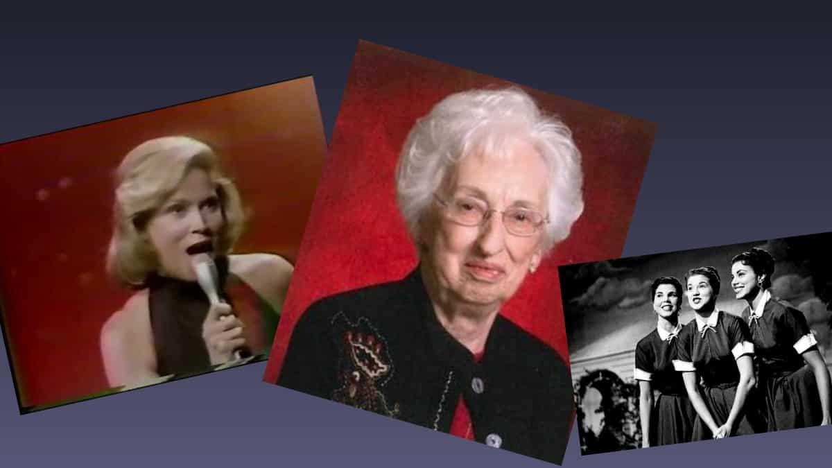 Phyllis Jean McGuire (February 14, 1931 – December 29, 2020)