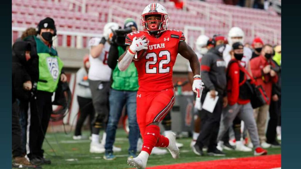 Star Utah running back Ty Jordan dies after a standout freshman season