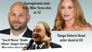Famous People Who Died Recently in January 2021