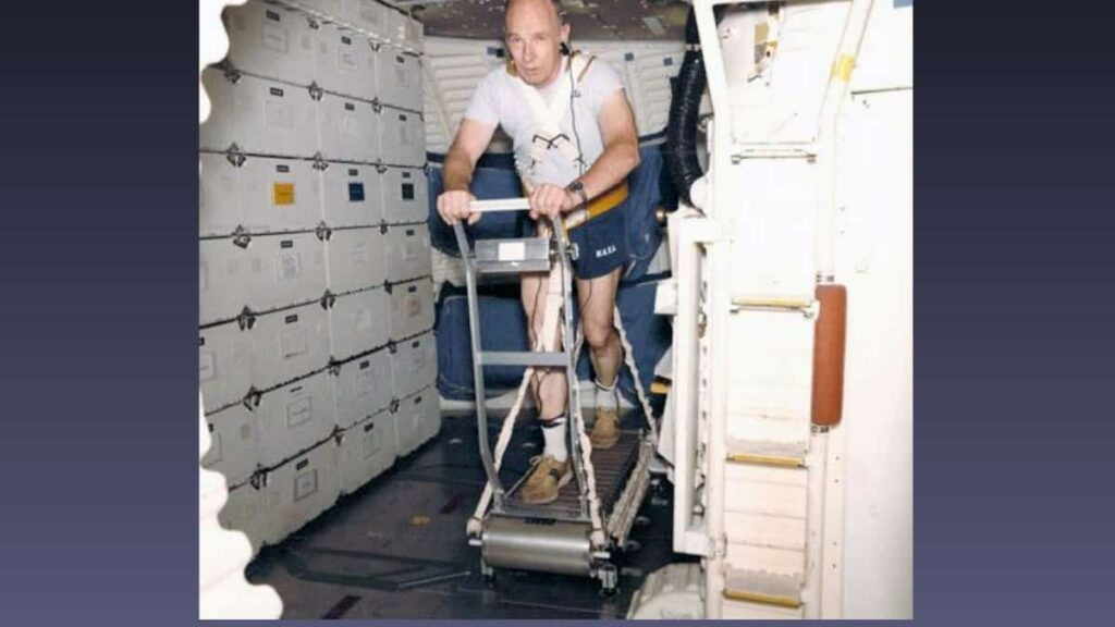 NASA astronaut William Thornton