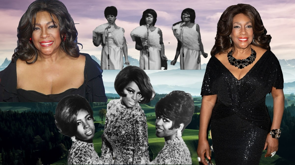 """Mary Wilson, a founding member of """"The Supremes,"""" died at 76"""