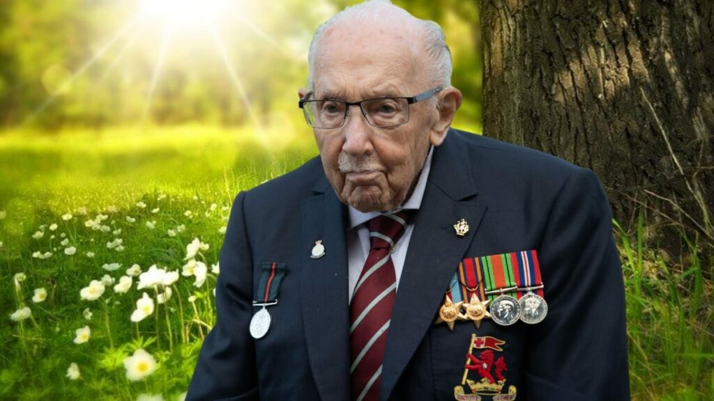 Captain Sir Tom Moore dead at 100 years