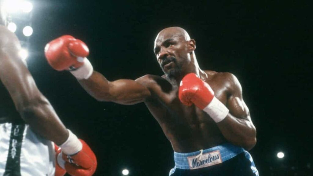 Marvelous Marvin Hagler was born in Newark, New Jersey, and moved with his family to Brockton in the late 1960s.
