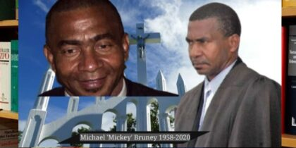 62-YEAR-OLD MICHEAL BRUNEY ('MICKEY') IS DEAD FROM LUNG CANCER