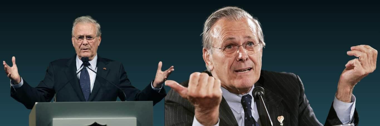 Donald Rumsfeld, former US secretary of defense, dead at 88