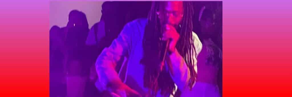 Reggae musician Joseph Jo Jo Bennett